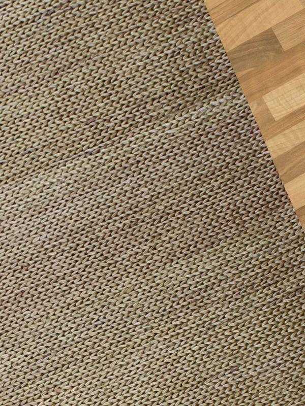 Carpetmantra Gold Jute Carpet 5.0ft X 8.0ft