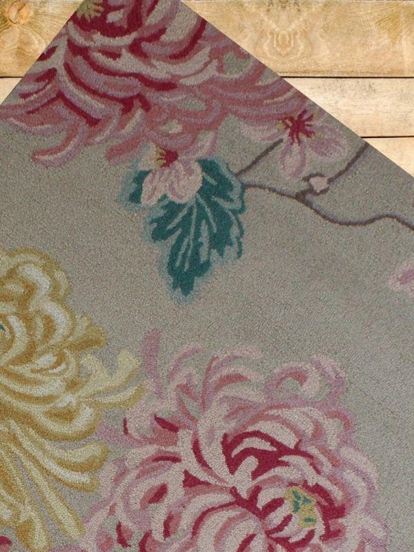 Carpetmantra Multi Floral Carpet 5.3ftX 7.7ft