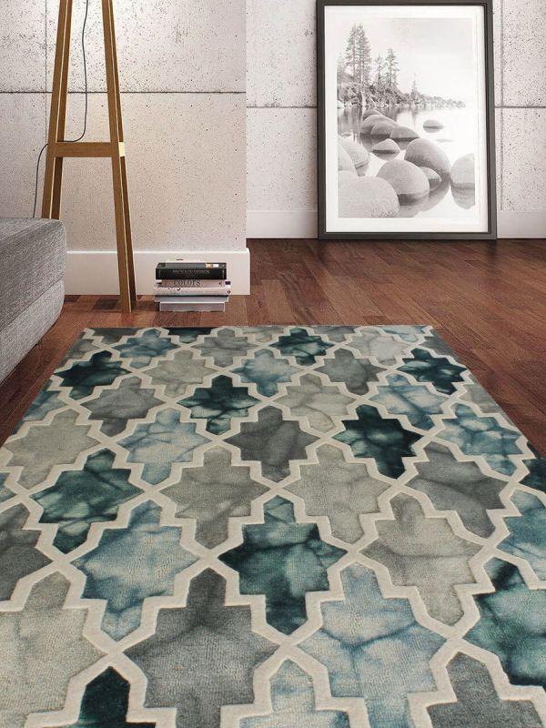 Carpetmantra Multi Modern Carpet 5.3ftX 7.7ft