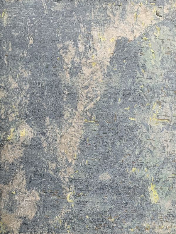 Carpetmantra Grey Abstract Carpet  5ft x 6ft