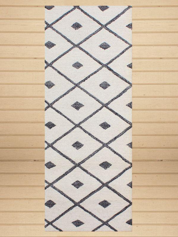 Carpet Mantra White Runner Carpet
