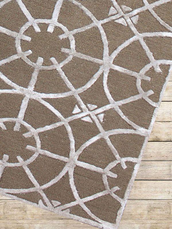 Carpet Mantra Gold Modern Carpet 6.0ft X 9.0ft