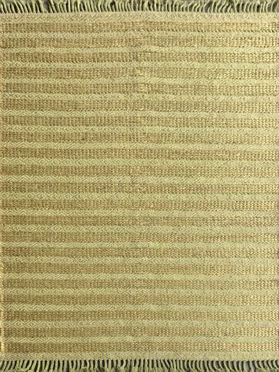 Carpetmantra Green Jute Carpet 5.0ft X 7.5ft