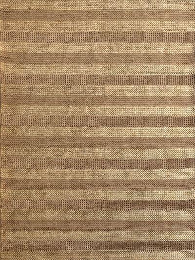 Carpetmantra Beige Jute Carpet 5.0ft X 8.0ft