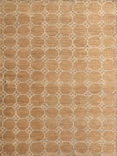 Carpetmantra Gold Jute Carpet 5.7ft X 7.10ft