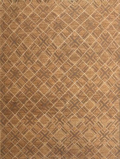 Carpetmantra Gold Jute Carpet 5.10ft X 7.10ft