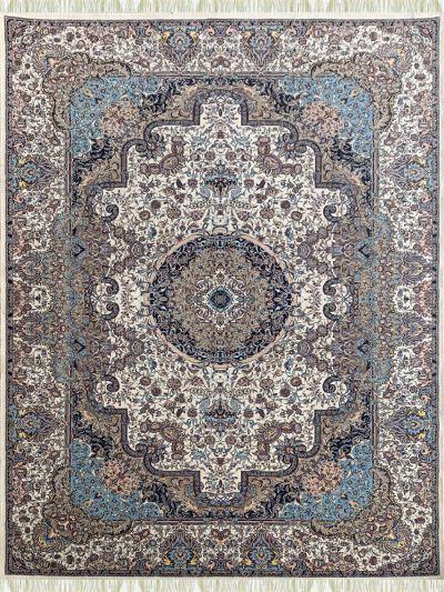 Carpetmantra Irani Multi Floral Carpet 5.0ft X 8.0ft
