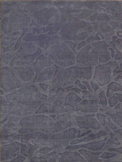 Carpetmantra Dark grey wool viscose carpet 5.7 x7.10