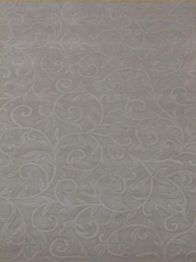 Carpetmantra Beige wool Viscose Carpet 5.7 x 7.10