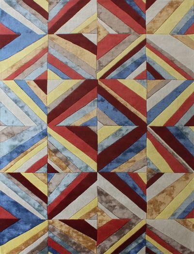 Carpetmantra Multi Modern Carpet 6ft X 9ft