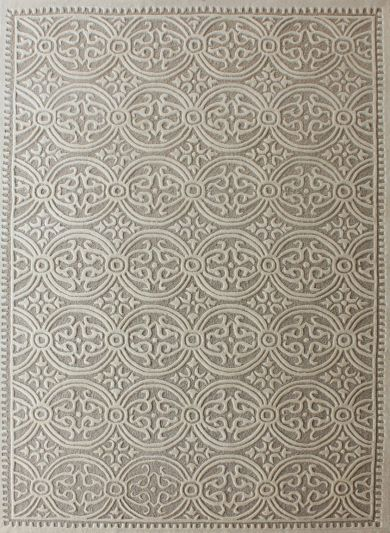 Carpetmantra Beige Modern Carpet 6ft X 9ft