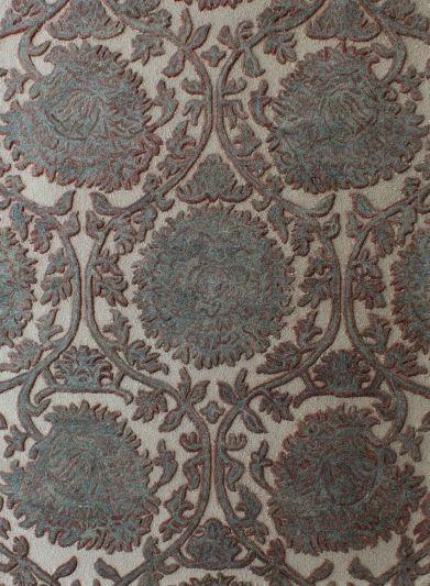Carpetmantra Multi Floral Carpet 5.3ft X 7.2ft