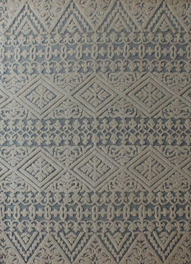 Carpetmantra White Modern Carpet 5ft X 8ft