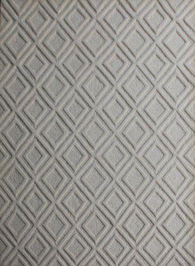 Carpetmantra White Modern Carpet 4.7ft X 6.6ft