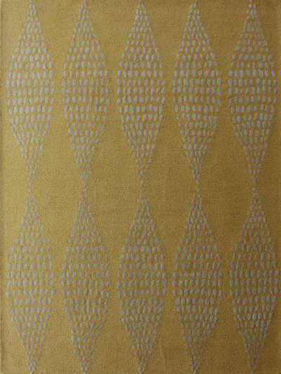 Carpetmantra Gold Modern Carpet 5ft x 7ft