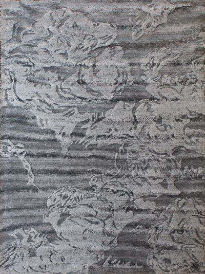 Carpetmantra Dk. Grey Modern Carpet 5ft x 8ft