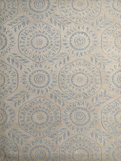Carpetmantra Beige Floral Carpet  5ft x 8ft