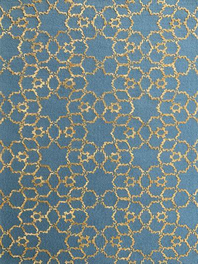 Carpetmantra Turquoise Modern Carpet