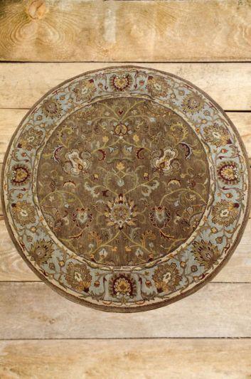 Carpetmantra Multi Floral Carpet 8ft Round