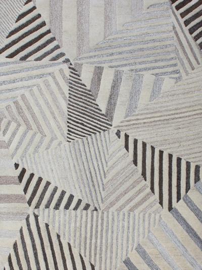 Carpetmantra Multi Modern Carpet  4.6ft x 6.6ft