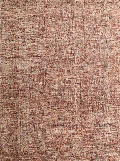 Carpetmantra Red Multi Modern Carpet  4.6ft x 6.6ft