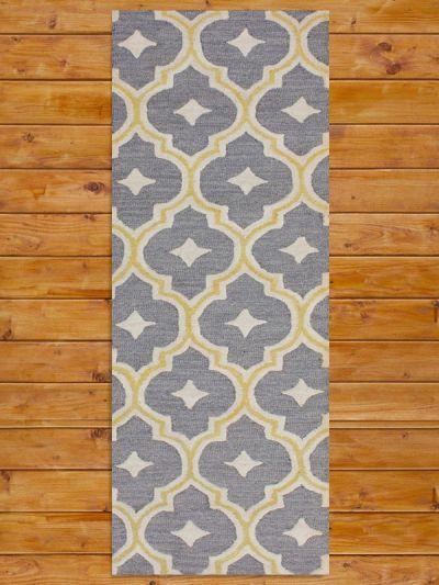 Carpet Mantra Grey Runner Carpet