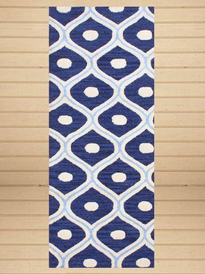 Carpet Mantra Blue Runner Carpet
