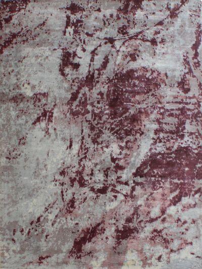 Carpetmantra Red viscose carpet  5.0ft x 7.5 ft