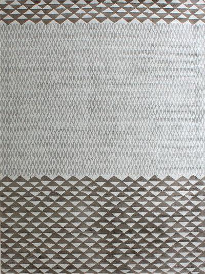 Carpetmantra Chikoo viscose carpet 5.3ft x 7.7ft
