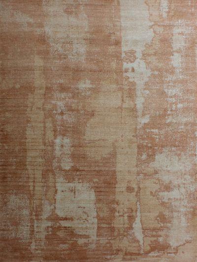 Carpetmantra  Orange viscose carpet  5.0ft x 8.0ft