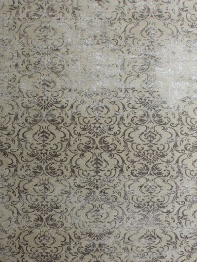 Carpetmantra  Grey viscose carpet  5.0ft x 8.0ft