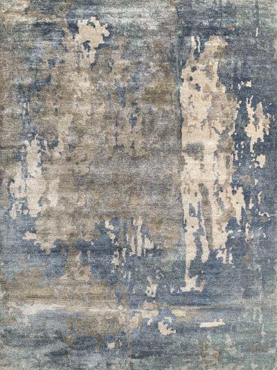 Carpetmantra Hand knotted Bamboo Silk Designer Multi Carpet 6ft x 9ft