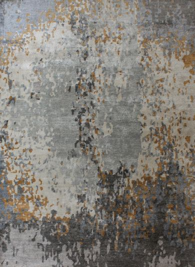 Carpetmantra Hand knotted Bamboo Silk  Designer Carpet 5.8ftx7.7ft