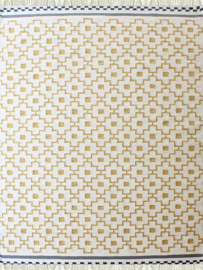 Carpetmantra Flatweave Durrie Carpet 5.7ft x 7.10ft 70559