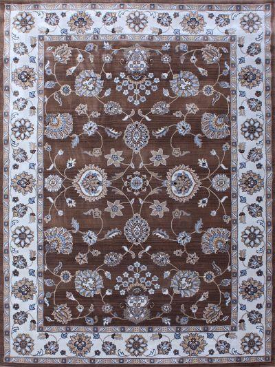 Carpetmantra Persian Floral Carpet 5.3f X 7.7ft