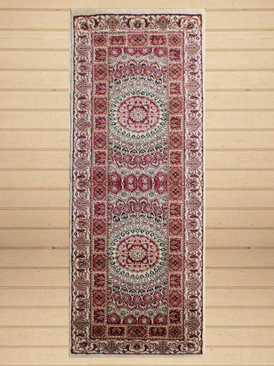 Carpetmantra Persian Runner white Carpet 2ft X 6ft