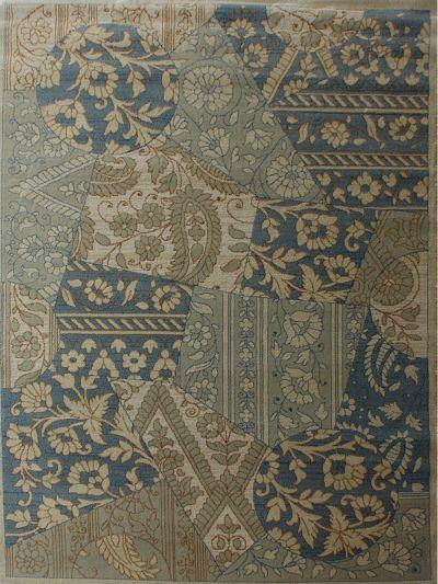 Carpetmantra  Multi Floral Carpet 5.3ft X 7.7ft