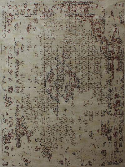 Carpetmantra Persian Beige Modern Carpet 5.3ft X 7.7ft