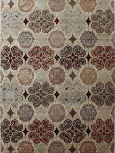 Carpetmantra Persian Multi Floral Carpet 5.3ft X 7.7ft