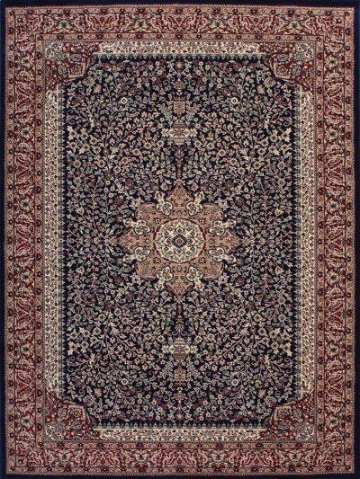 Carpetmantra Persian Blue Floral Carpet 6ft X 9ft