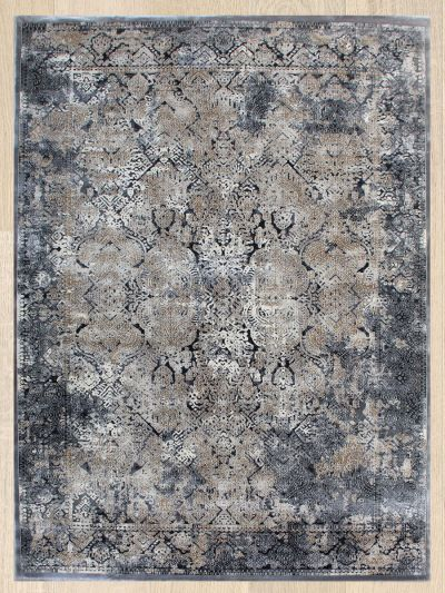 Carpetmantra Contemporary Grey Modern Carpets