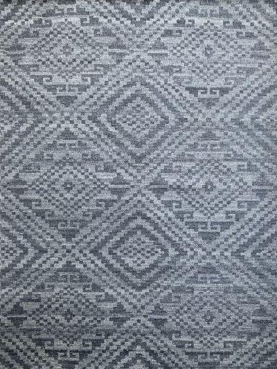 Carpetmantra Bamboo Silk Handmade Grey Carpet 5.8ft X 7.10ft