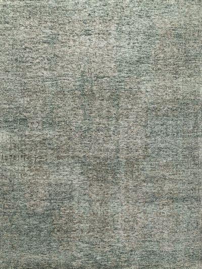 Carpetmantra Bamboo Silk Handmade Grey Carpet 5.8ft x 7.11ft