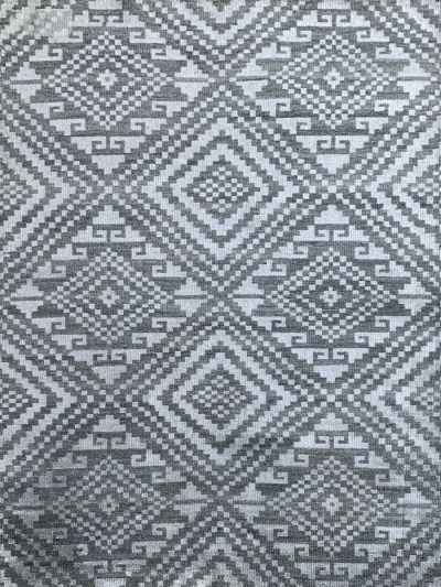 Carpetmantra Bamboo Silk Handmade Grey Carpet 5.7ft X 7.11ft