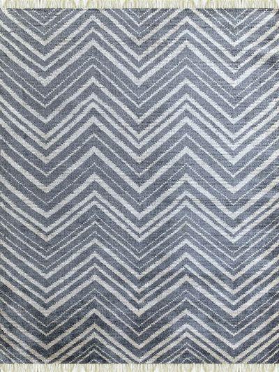 Carpetmantra Bamboo Silk Handmade Grey Carpet 5.8ft X 7.8ft  1