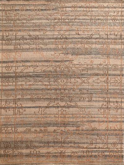 Carpetmantra Handknotted Transitional Beige Carpet 5.3ft X 7.10ft