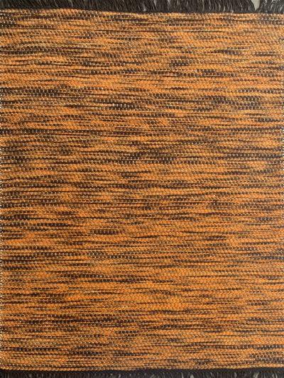 Carpetmantra Hand Woven Yellow Carpet 4.6ft X 6.6ft