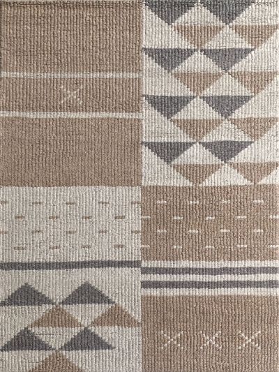 Carpetmantra Hand Woven Beige Brown  Carpet 4.6ft X 6.6ft