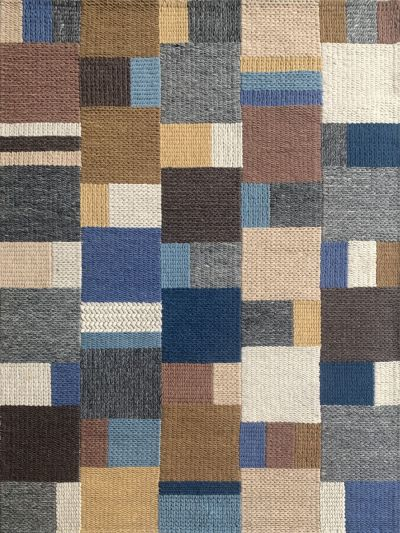 Carpetmantra Hand Woven Multi Carpet 4.6ft X 6.6ft 91011