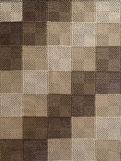 Carpetmantra Hand Woven Multi Carpet 5.7ft X 7.10ft
